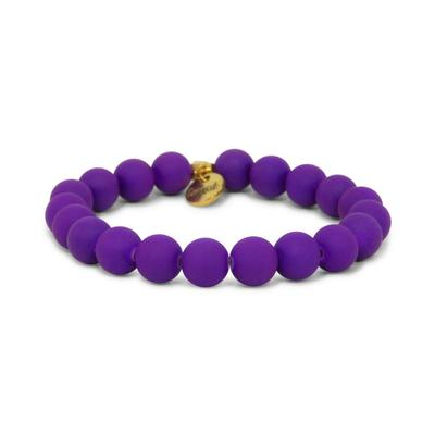 Erimish Purple Jagger Stackable Bracelet
