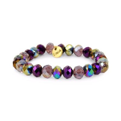 Erimish Purple Jammin Stackable Bracelet