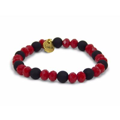Erimish Red and Black Kash Stackable Bracelet