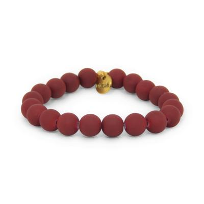 Erimish Maroon Kimberly Stackable Bracelet