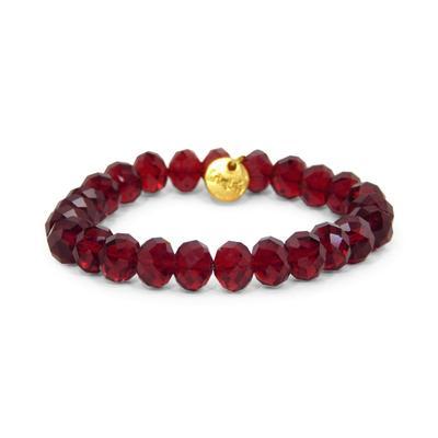Erimish Maroon Lance Stackable Bracelet