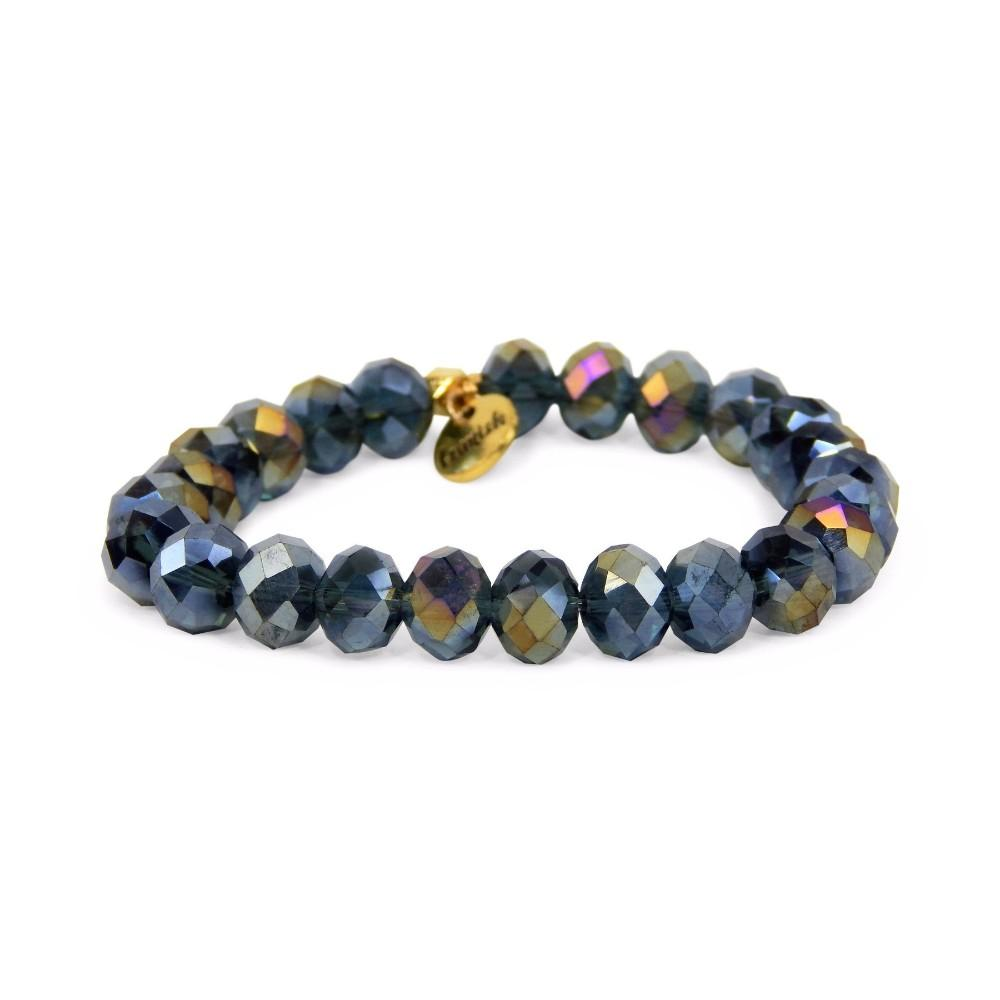 Erimish Navy Stan Stackable Bracelet