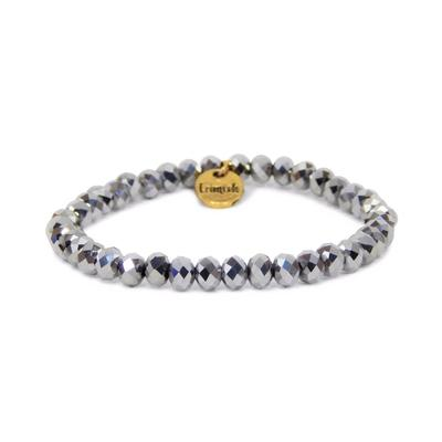 Erimish Silver Stilleto Stackable Bracelet