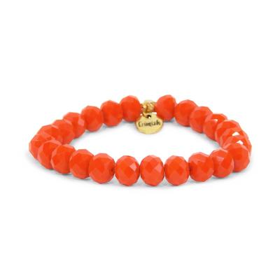 Erimish Orange Nolen Stackable Bracelet