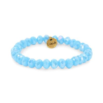 Erimish Light Blue Panther Stackable Bracelet