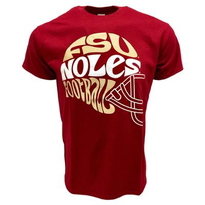 Florida State Groovy Football Short Sleeve Tee