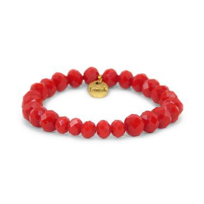 Erimish Red Ricki Stackable Bracelet