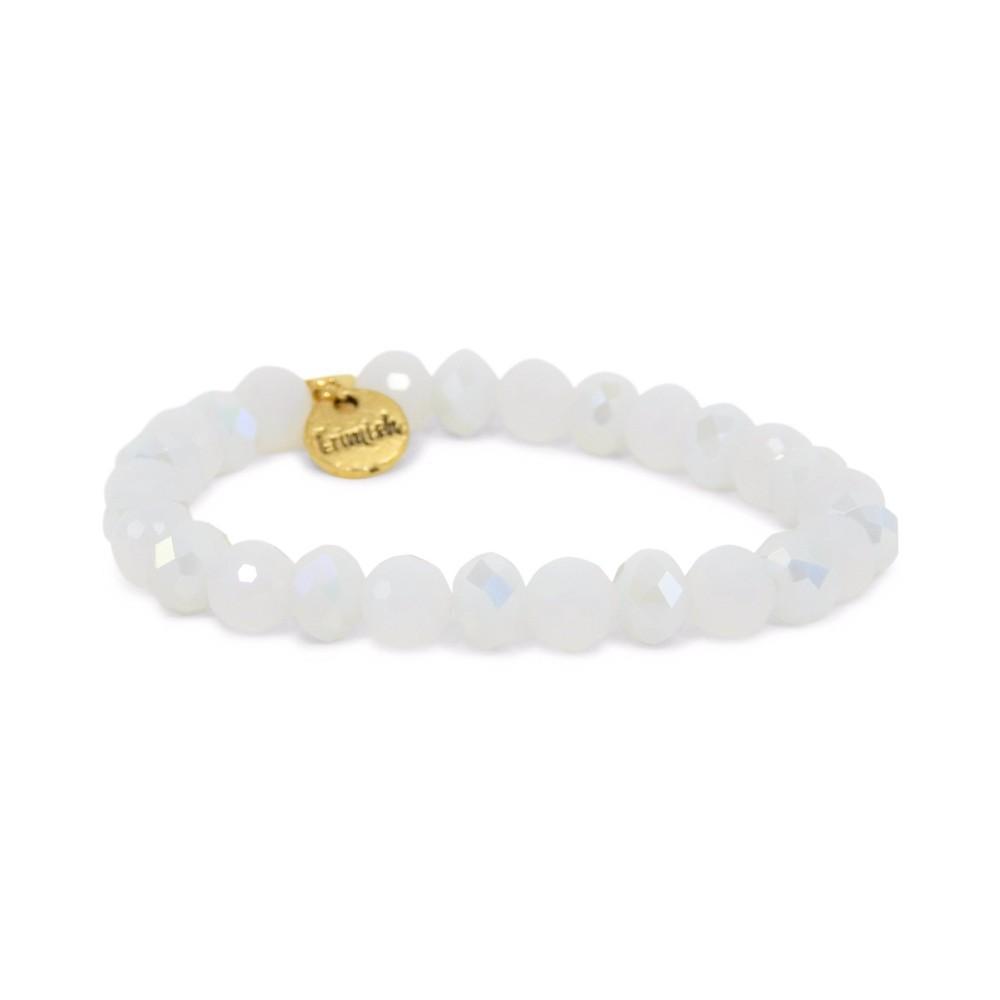 Erimish White Snuggle Stackable Bracelet