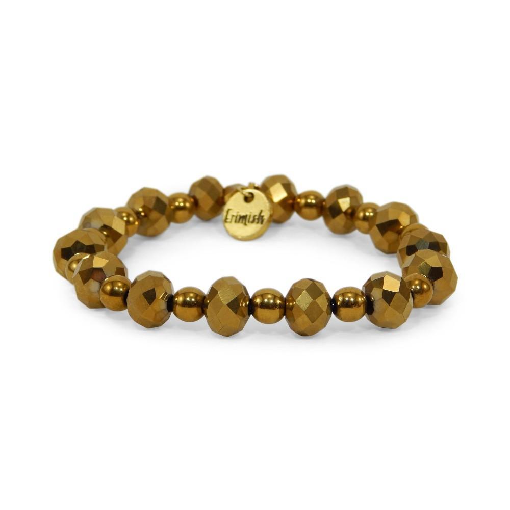 Erimish Gold Solar Stackable Bracelet