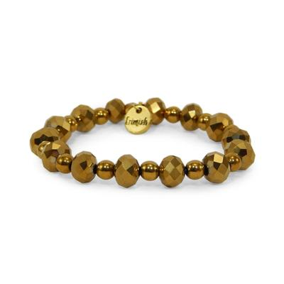 Erimish Gold Solar Stackable Bracelet