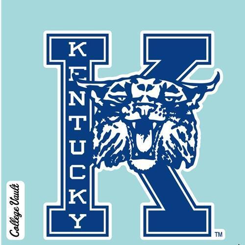 Kentucky Decal Vault K With Wildcat Logo (4