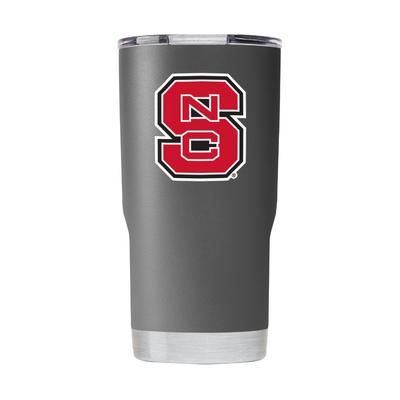 NC State Gametime Sidekick 20oz Grey Tumbler With Lid