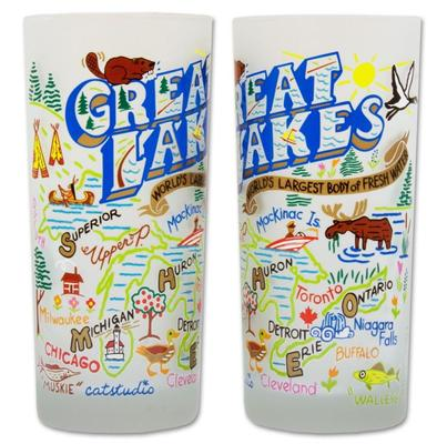 Great Lakes Frosted Glass