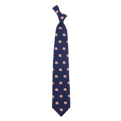 Auburn Silk Prep Tie