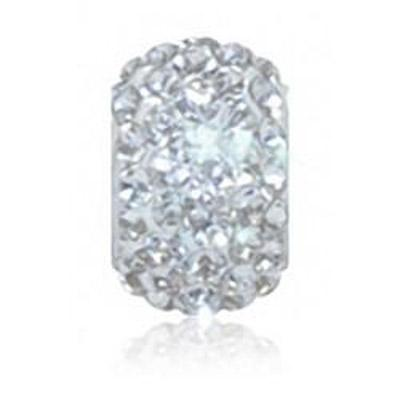 Sparkle Life Clear Solid Crystal Bead