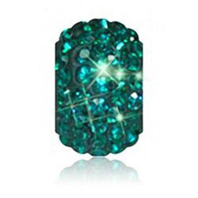 Sparkle Life Emerald Solid Crystal Bead