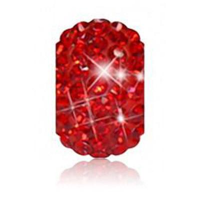 Sparkle Life Red Solid Crystal Bead