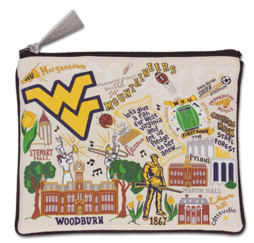 West Virginia Woven Pouch