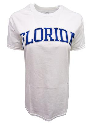Florida Women's Basic Arch T-Shirt WHITE