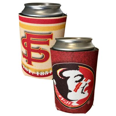 Florida State Vault 12oz Can Coozie