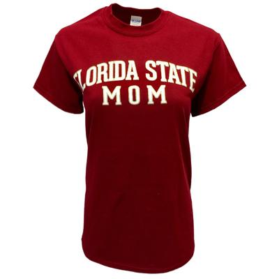 Florida State Women's Straight Mom Tee