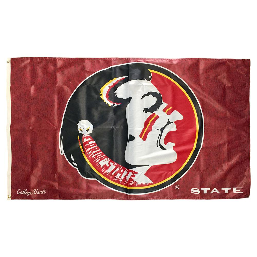 Florida State Vault Logo Deluxe House Flag (3 ' X 5 ')