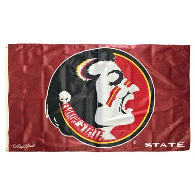 Florida State Vault Logo Deluxe House Flag (3' x 5')