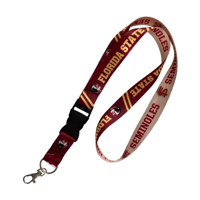 Florida State Vault Logo Lanyard With Detachable Buckle