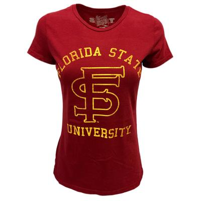 Florida State Vault Martha Crew Top