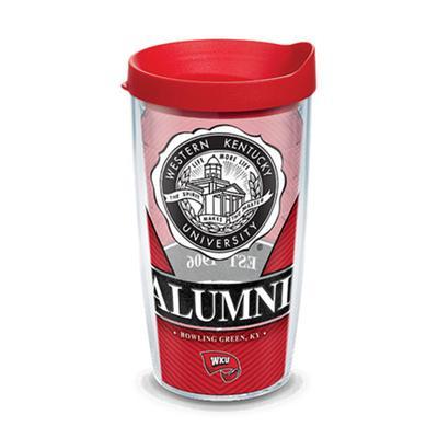 Western Kentucky Tervis 16oz Alumni Wrap Tumbler