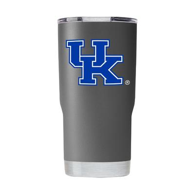 Kentucky Gametime Sidekick Grey 20oz Tumbler With Lid
