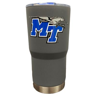MTSU Gametime Sidekick Grey 20oz Tumbler With Lid