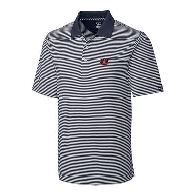 Auburn Cutter and Buck Big and Tall Trevor Stripe Polo ***Custom Order***
