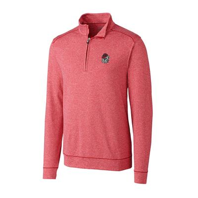 Georgia Cutter and Buck Big and Tall Shoreline Half Zip Pullover ***Custom Order***
