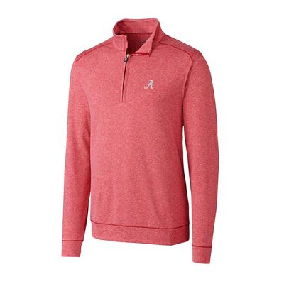 Alabama Cutter and Buck Big and Tall Shoreline Half Zip Pullover ***Custom Order***