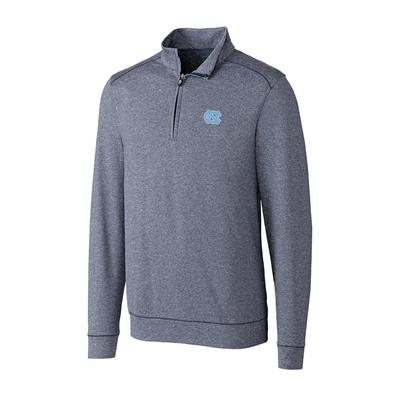 UNC Cutter and Buck Big and Tall Shoreline Half Zip Pullover ***Custom Order***