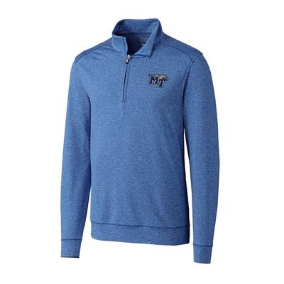 MTSU Cutter and Buck Big and Tall Shoreline Half Zip Pullover ***Custom Order***