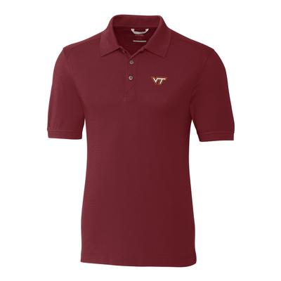 Virginia Tech Cutter and Buck Big and Tall Advantage Polo ***Custom Order***