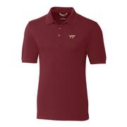 Virginia Tech Cutter And Buck Big And Tall Advantage Polo *** Custom Order ***