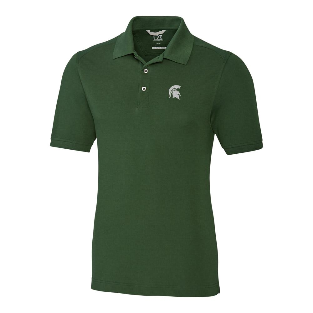 Michigan State Cutter And Buck Big And Tall Advantage Polo *** Custom Order ***