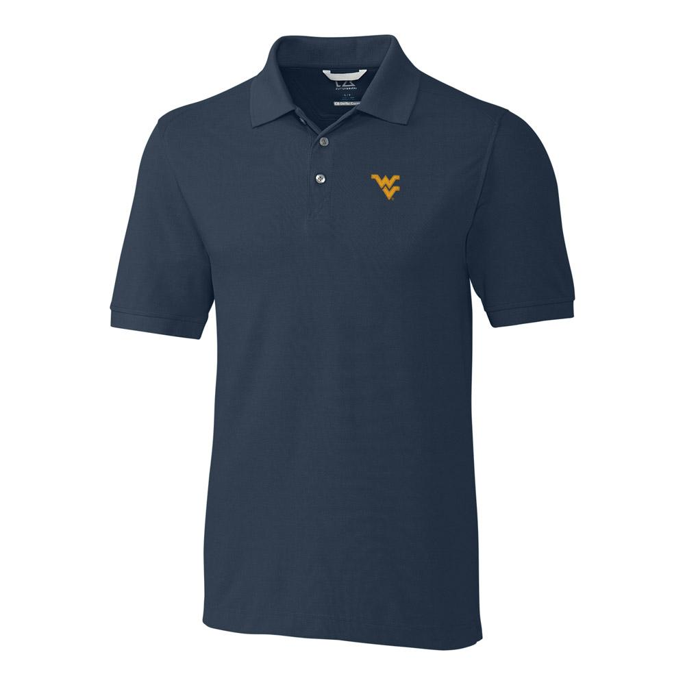 West Virginia Cutter And Buck Big And Tall Advantage Polo *** Custom Order ***