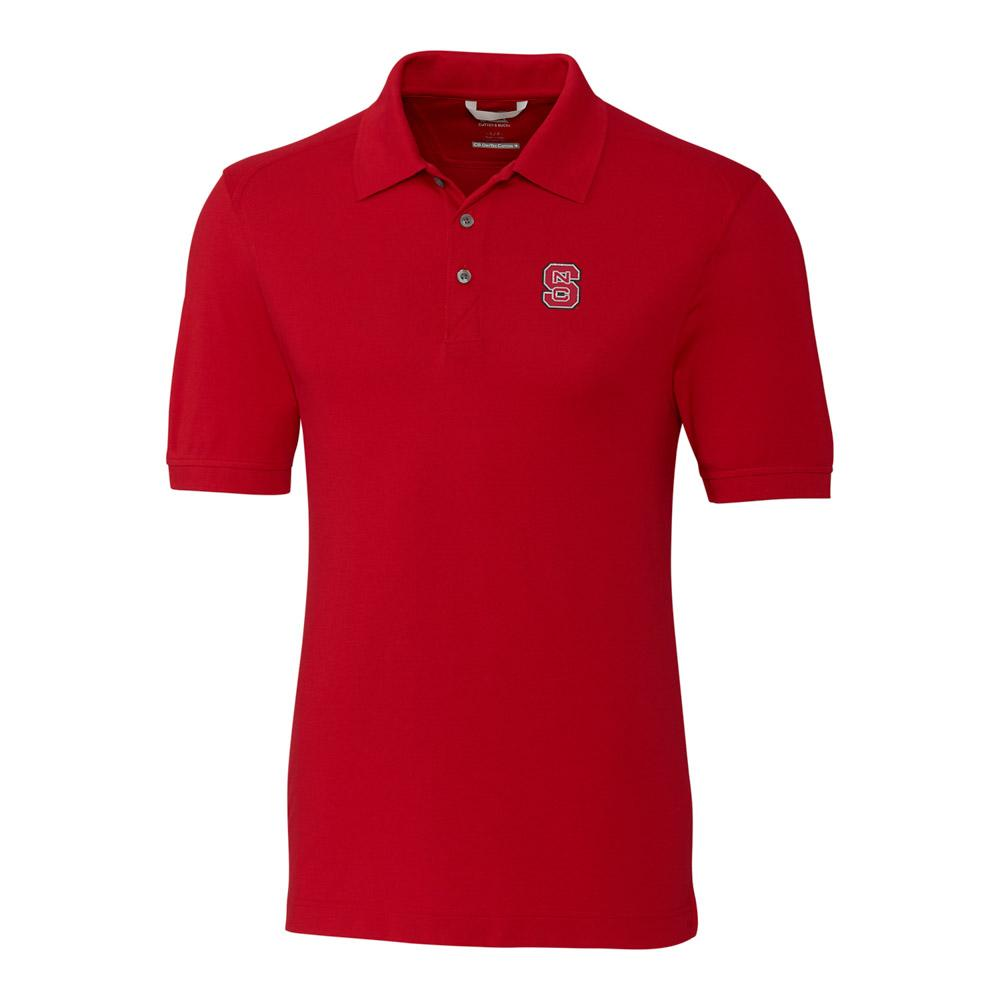 Nc State Cutter And Buck Big And Tall Advantage Polo *** Custom Order ***