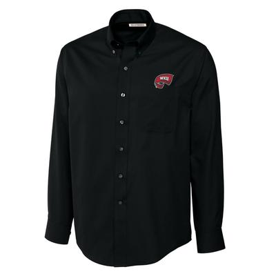 Western Kentucky Cutter and Buck Big and Tall Fine Twill Button Down ***Custom Order***