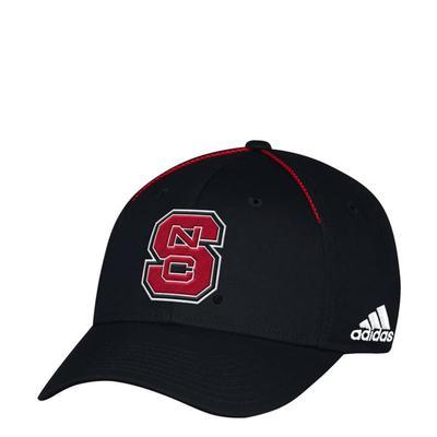 NC State Adidas Sideline Flex Fit Cap