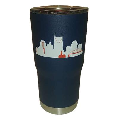 Gametime Sidekick 20oz Nashville Skyline Tumbler With Lid