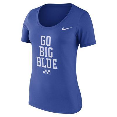 Kentucky Nike Women's Scoop Neck Local Tee