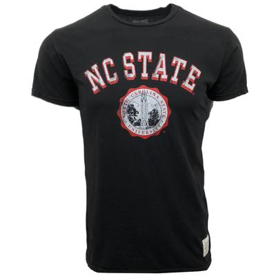 NC State Retro Brand School Seal Tee