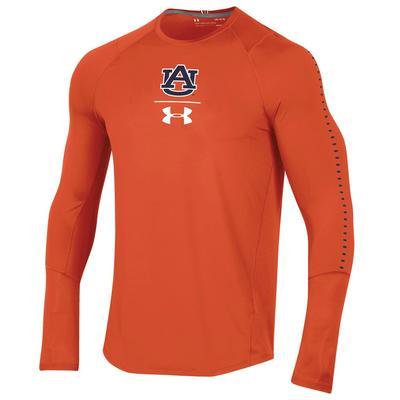 Auburn Under Armour Long Sleeve Raid Tee