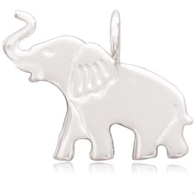 Sparkle Life Sterling Silver Elephant Pendant