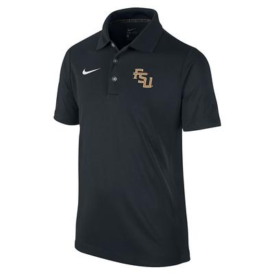 Florida State Nike Youth Dri-Fit Varsity Polo